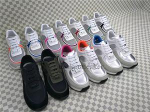 Moda Paris Designer Shoes Brand Pisos Entrenadores Zapatos casuales para mujeres Amantes de la fiesta Vestidos de fiesta Zapatillas de cuero Zapato