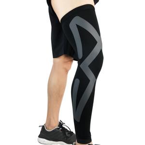 Compression Leg Sleeve Sport Cover Ciclismo Manicotti Running Basket Pallavolo Coprigambe Scaldamuscoli Protezione UV