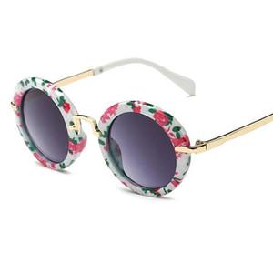 Yeni Çocuklar için güneş gözlüğü Sevimli Güneş Gözlüğü bebek kız erkek güneş gözlüğü UV400 moda gözlük toptan 8223