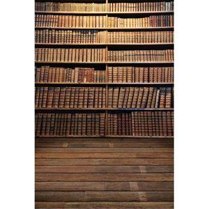 الكتب خمر مدرسة رف التصوير الخلفيات أرضية خشبية الرقمية مطبوعة موسم التخرج أطفال الأطفال الخلفيات استوديو الصور