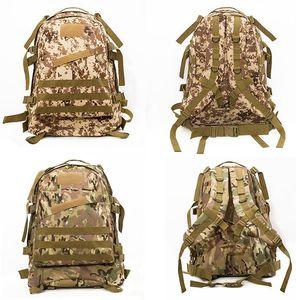 Top saco de viagem do Campo EUA CORPO Marinho ACU camuflagem 3D saco de ataque Mochila ao ar livre Misterioso camuflagem tático Mochila bolsa szm100