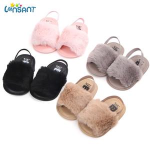 Lonsant 2018 Verano Baby Girls First Walker Zapatos Moda 0-2YEARS Newborn Infantil Bebé Carta Sólido Blanco Soft Cómodo Zapatos