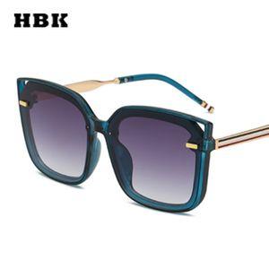 HBK Unisex Cat Eye Modis Sunglasses óculos Большой Урожай Женщины Мужчины Марка 2019 Тенденции Солнцезащитные очки Фестиваль подарков