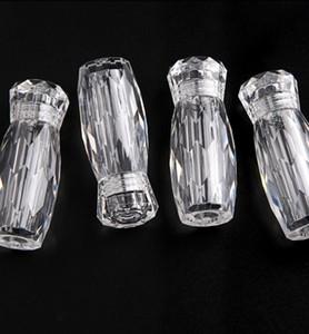 5 ml 5g vacío acrílico contenedor de almacenamiento tarro con tapas de tornillo para cuentas, arte de uñas, cuentas de caviar, brillo, crema de viaje de cosméticos