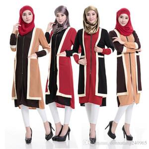 abito abaya musulmano camicetta lunga Camicia islamico Doubai vestiti islamici caftano musulmani abaya vestito da modo turco