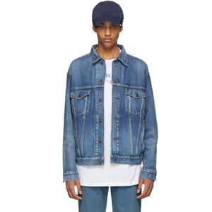 18ss BB Logo Ricamo Giacca di jeans Desinger High-end Casual Giacca Street Fashion Coat Uomo Donna Giacca di jeans Outwear HFYMJK031