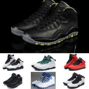 Botas clásicas 2018 de los zapatos de la moda de los zapatos de los hombres 2018 X negro gris rojo calza zapatillas de deporte del baloncesto tamaño 41-47
