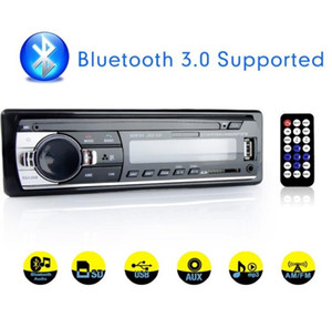 Car Radio Stereo Player Digital Bluetooth Car MP3 Player 60Wx4 FM Radio Stereo Audio Music USB SD with In Dash AUX Input