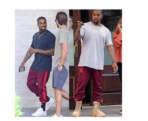 Wholesale-Season 4 Crewneck Sweatpants M-4XL CALABASAS Pants Men Loose Joggers Commortable Men Elastic Pants Hip Hop KMK00512