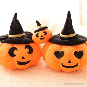 Wholesale- Funny Pumpkin Pillow Creative Plush Toys Cute Pillow Dolls Dolls Halloween Gifts Children Toys