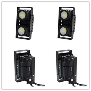 2 piezas 200w cob led blinder bee eye 2 ojos luz WC 2en1 pixel beam wash IP65 a prueba de agua telón de fondo dmx LED COB audiencia blinder