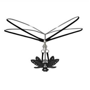Sıcak Nakış kadın Külot Düşük Bel Metal Toka Erotik Külot Külot Şeffaf Thongs G-string Seksi Iç Çamaşırı Lingerie S923