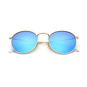 2018 Fashion Designer Mirror Polarized Sunglasses Logotipo personalizado