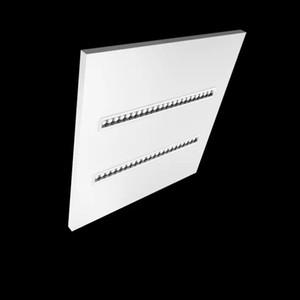 UGR16 لا وميض جديد عاكس وحدات المدمج في الصمام خطي صفيف لوحة الضوء الساطع 600x600mm 620x620mm