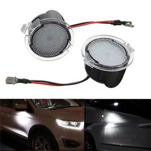 2pcs LED sous le côté Rétroviseur Puddle lumière pour Ford Edge Fusion Flex Explorateur Mondeo Taurus F-150 Expédition