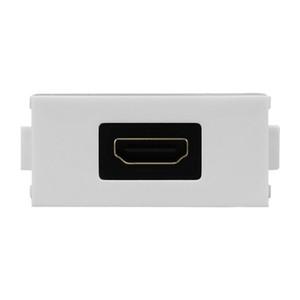 Weiß Kurz HDMI Home Zubehör LY-024 Elbow HDMI Buchse LY-022 HDMI-Modul für 86 Teller-Verkleidungs-Wand