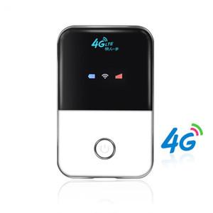 4G Hotspot Desbloqueado Móvel portátil router Wifi Bolso Sem Fio Do Carro Mifi modem com slot para cartão sim