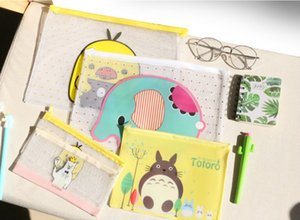Cartoon 3 Sizes File Folders School Supplies Office Filing Supplies Cheap Good Quality and Free Shipping
