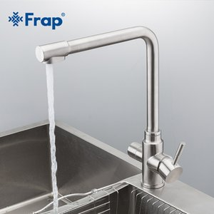 Frap new waterfilter taps kitchen faucets stainless steel mixer drinking water filter faint Kitchen sink tap Water tap Y40036