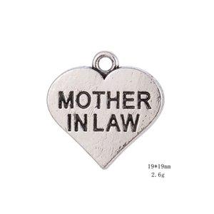 2021 члена семьи мама в юридическом тексте подвески сердца подвеска подходит браслет
