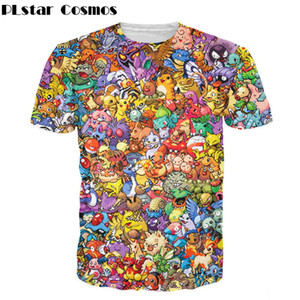 PLstar Cosmos Women Men funny tops Original 150 T-Shirt 90s video game anime 3d print t shirt Characters cartoon tees