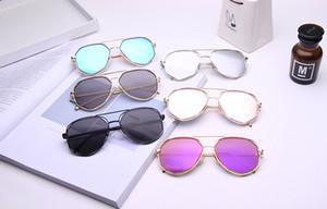 Новый дизайн мода дешевые дизайнерские солнцезащитные очки для женщин мужчины кадр спорта на открытом воздухе UV400 очки тенденция бренд очки