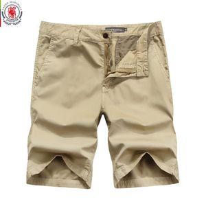 Fredd Marshall 2017 Nouveaux Hommes Shorts unis Casual Cargo Short Pantalon Militaire Pantalon court Homme Loose Casual Shorts Bermuda 6607