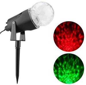 Levou Luz de Projeção De Rotação com Flame Lightings Holofotes Ao Ar Livre Luz Do Projetor de Natal Luz Noturna Luz Da Água lâmpada de Gramado LLFA