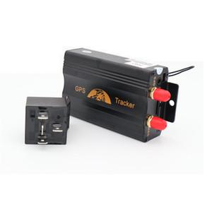TK103B Rastreador GPS Dispositivo de Rastreamento de Carro Crawler Retentor Coban Cortado Óleo GSM GPS Localizador de Voz Monitor de Alarme de Choque Web App GRÁTIS