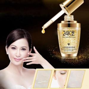BIOAQUA 24 K Gold Face Cream Hidratante 24 K Gold Day Cream Hidratante 24K Esencia de Oro Serum Para Mujeres Cara Cuidado de la piel DHL Gratis