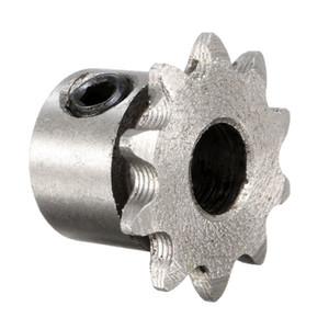 8mm Bohrung 10 Zähne Metall Getriebemotor Rollenkettenantrieb Kettenrad