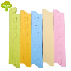 Border EVA Foam Baby Toy Puzzle Play Mat Juego de enclavamiento Ejercicio Gym Tile Floor Pad Alfombra Alfombra para Niño Niño, 30x1cm 30x1.3cm