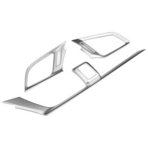 혼다 시빅 2016-2018 용 Chromed AC Vent Cover 에어컨 장식 트림