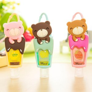 Bath Body Works Pocket Bac Holder oso de vacaciones para desinfectante de manos Botella de plástico 21 * 3.3cm 3pcs / lot