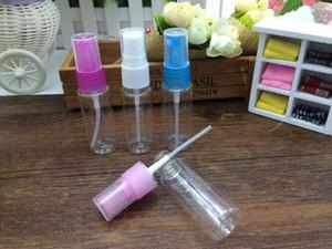 Envío gratuito de alta calidad 20 ml envase de plástico vacío venta al por mayor colorido PET Spray botellas 20 ml botellas de PET