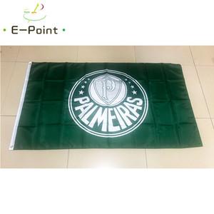 Bandeira do Brasil Sociedade Esportiva Palmeiras 3 * 5ft (90 cm * 150 cm) Poliéster bandeira Bandeira decoração voando jardim de casa bandeira Presentes festivos