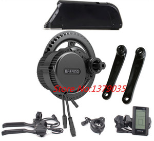 US EU No taxes Bafang BBS02 48V 500W Bike mid central crank Kit with 48v 10.4ah lithium battery +charger