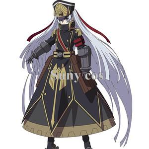 Re Creators Altair Uniforme militare Principessa Costume Cosplay Halloween