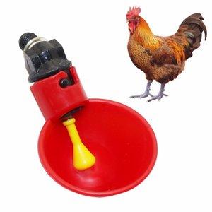 2pcs volaille eau potable tasses automatique caille abreuvoir poulet en plastique poulet poulet abreuvoir équipements d'élevage