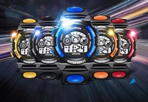 Moda Coolboss niños niños niñas deporte reloj digital led multifunción luminosa regalo partido estudiante relojes ST002