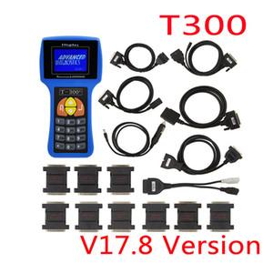 Programmeur T300 Bleu Espagnol V2017.8 Programmateur T300 clé T300 + T 300 programmeur clé pour la programmation de clé de voiture de véhicule multimarque