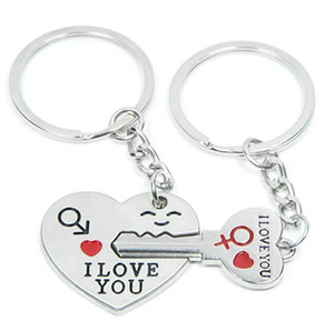 Love Key To My Heart Cute Couple Keychain Love Keychain Key Ring Keychain Lovers Keyring