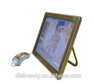 LCD 피부 진단 시스템 피부 검사 분석 기계 얼굴 매직 미러 피부 검출기 스캐너 피지 공극 주름 표면 각질 분석