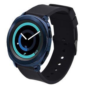 Reloj de silicona de 20 mm Banda de liberación rápida de la correa de pulsera para Samsung Gear Deporte / S2 Classic SM-R732 / Garmin VivoActive 3 / HR Vivomove