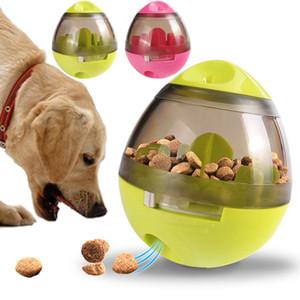 Hundefutter Spielzeug Interactive Tumbler Undichte Lebensmittel Ball Haustier Hund Spielzeug Lustige Chew Spielzeug für Hunde Katzen Pet IQ Treat Ball T2I206