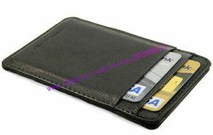 De calidad superior Negro Plaid Checker Lona recubierta de cuero real CARTES PORTE NEO N62666 Titular de la tarjeta de piel de becerro