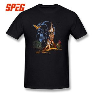 Mestres do Universo Estrela Masters Tees Masculino Curto-Manga Incrível O Pescoço 100% Algodão T-shirt Novas Vinda Camisetas