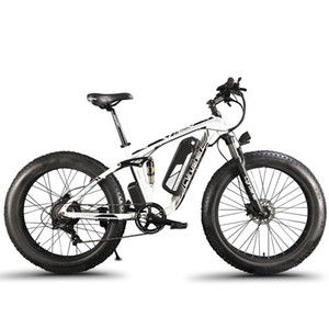 Großhandels XF800 elektrisches Fahrraddoppeltes Fahrwerk 7 beschleunigt, fetter Reifen eBike, 1000W 48V, intelligenter Computer-Geschwindigkeitsmesser elektrisches Fahrrad
