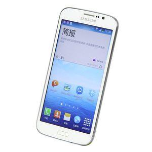 "100% abierta original Samsung Galaxy 5.8 Mega I9152 i9152 teléfono móvil de 1,5 GB de RAM de 8 GB ROM 5.8"" teléfono móvil de 8.0 megapíxeles Reformado"