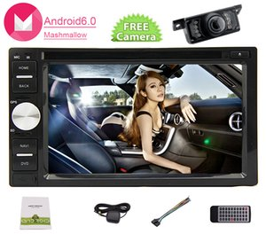 Android 6.0 car dvd Stereo in Dash Double Din Headunit GPS Navigation Map 6.2 '' 5point Touch Capacity Screen Car Monitor Bluetooth